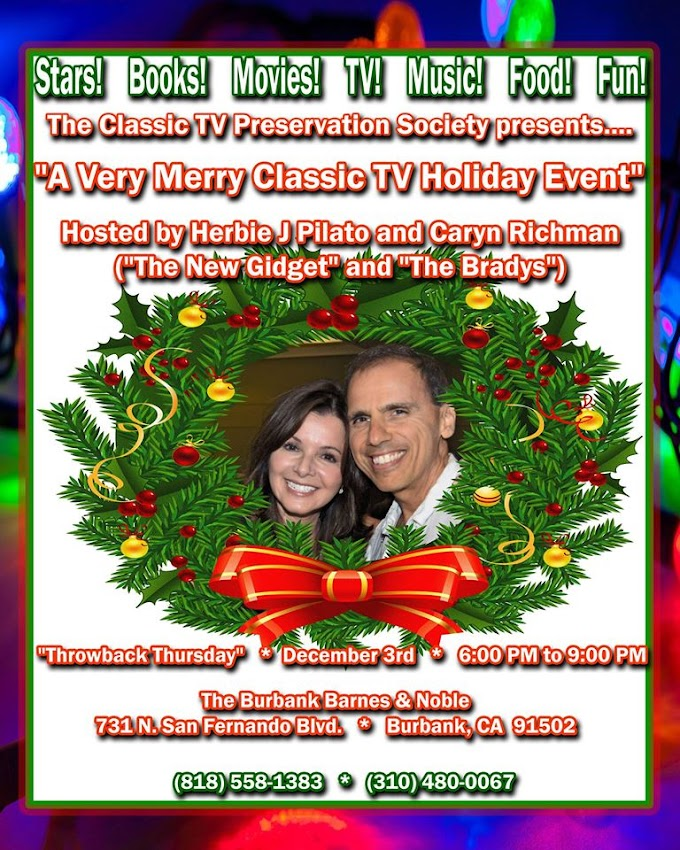 """""""A Very Merry Classic TV Holiday Event"""""""