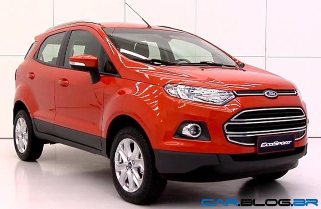 Novo Ford EcoSport 2013 - perfil