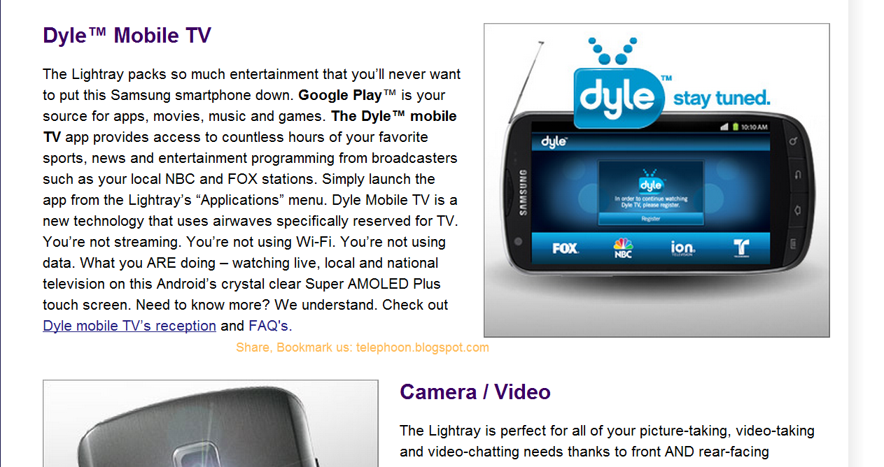 Watch LIVE TV broadcast on cell phones & tablets in US, without 3G on