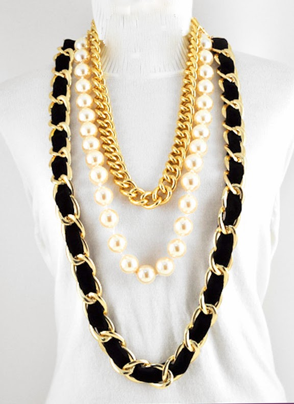 celebrity inspired statement necklace