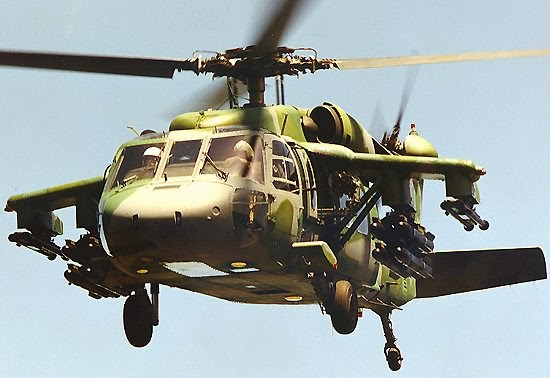 Helikopter S-70A Black Hawk