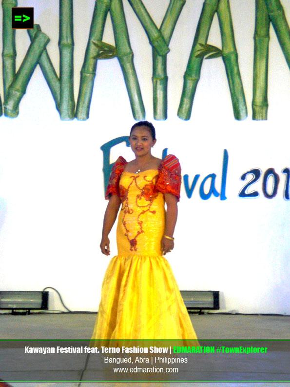 Abrenio Kawayan Festival | Abra-inspired Terno Fashion Show