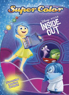 LIBRO - DISNEY Inside Out : Del revés - Supercolor   (Planeta - 16 Junio 2015)  INFANTIL | PARA COLOREAR | Comprar en Amazon