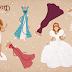 Ilustrações: Bonecas de Papel Disney