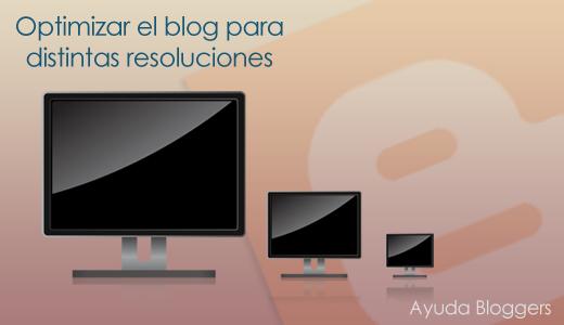 Optimizar el blog para distintas resoluciones