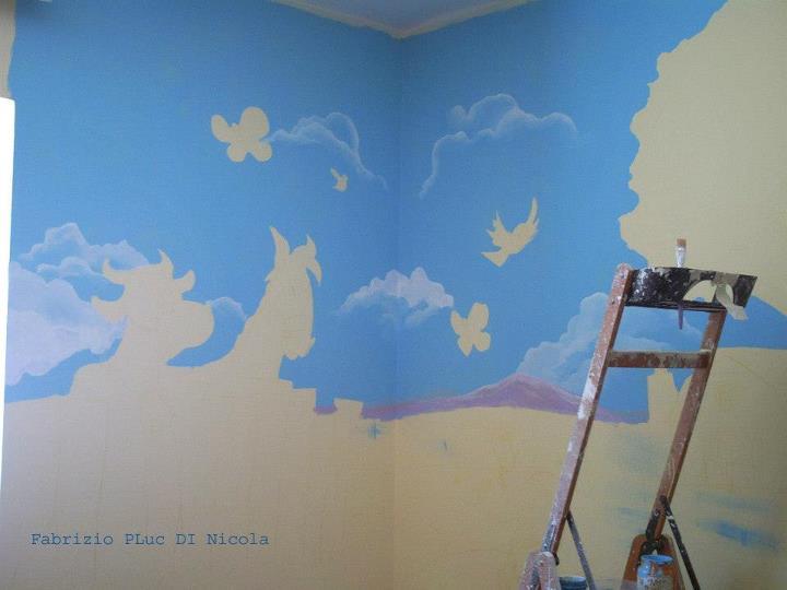 Decorare Pareti Cameretta Bambini : Pluccomix murales cameretta bambini