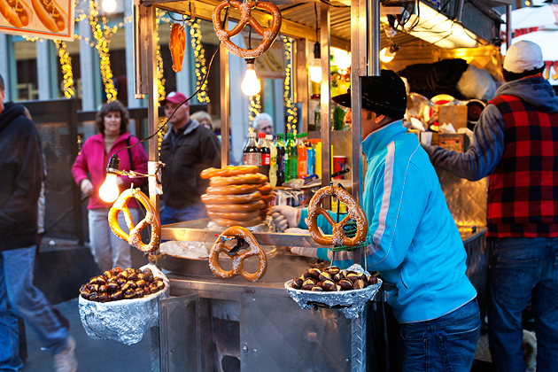 chestnuts food cart