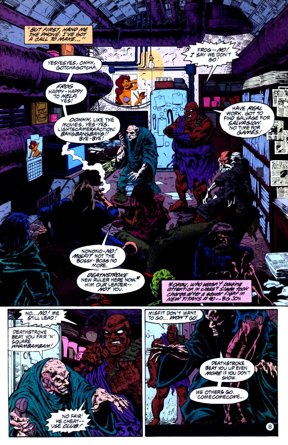 Deathstroke (1991) Issue #15 #20 - English 9