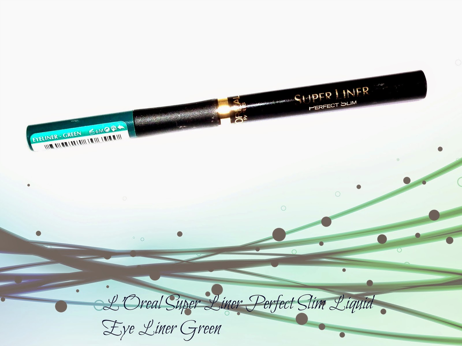 L'Oreal Super Liner Perfect Slim Liquid Eye Liner Green