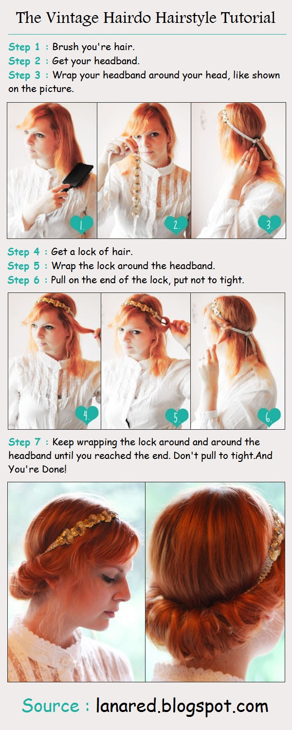 The Vintage Hairdo Hairstyle Tutorial Shes Beautiful