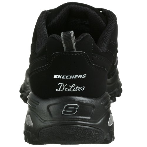 skechers women 39 s d 39 lites raptures sneaker black sneakers shoes sneakers shoes lovers. Black Bedroom Furniture Sets. Home Design Ideas