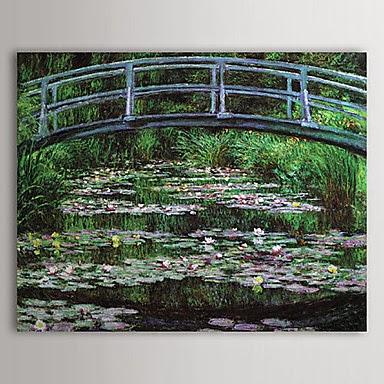 Puente Japonés de Claude Monet