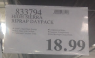 Deal for the High Sierra Riprap Daypack Backpack at Costco