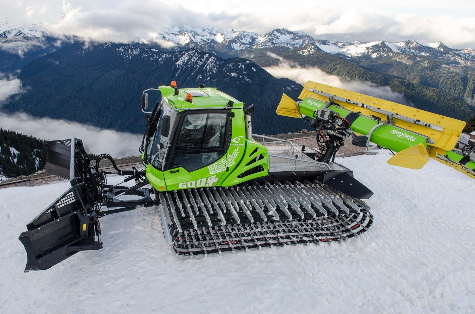 Electric And Hybrid Vehicles >> Northwest Snowcats: PistenBully by Kassbohrer All Terrain Vehicles Alaska Washington Oregon