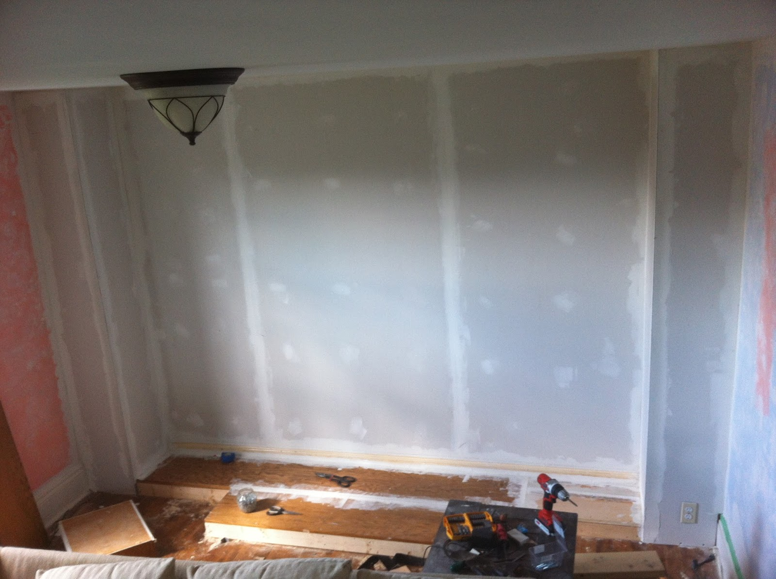 how to add gyprock to your wall