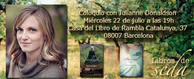 Cr nica de la presentaci n de julianne donaldson en barcelona lecturadictiva - Casa del libro barcelona rambla catalunya ...