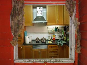 la pequeña cocina de Silvia