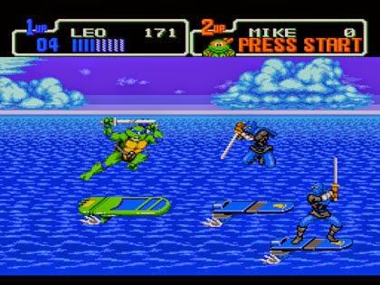 Retro gaming club retro review of the week teenage mutant ninja