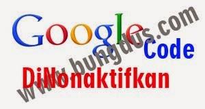 googlecode akan dinonaktifkan