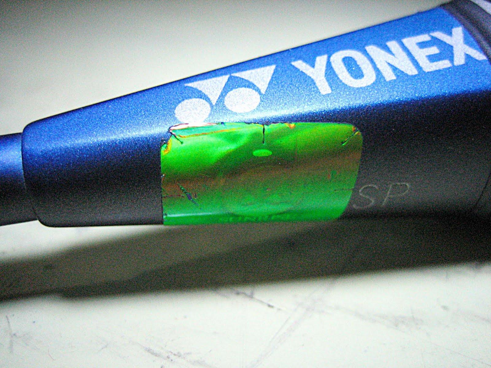 Chuiel Chemong Cara Membedakan Raket Yonex Asli Dan Palsu