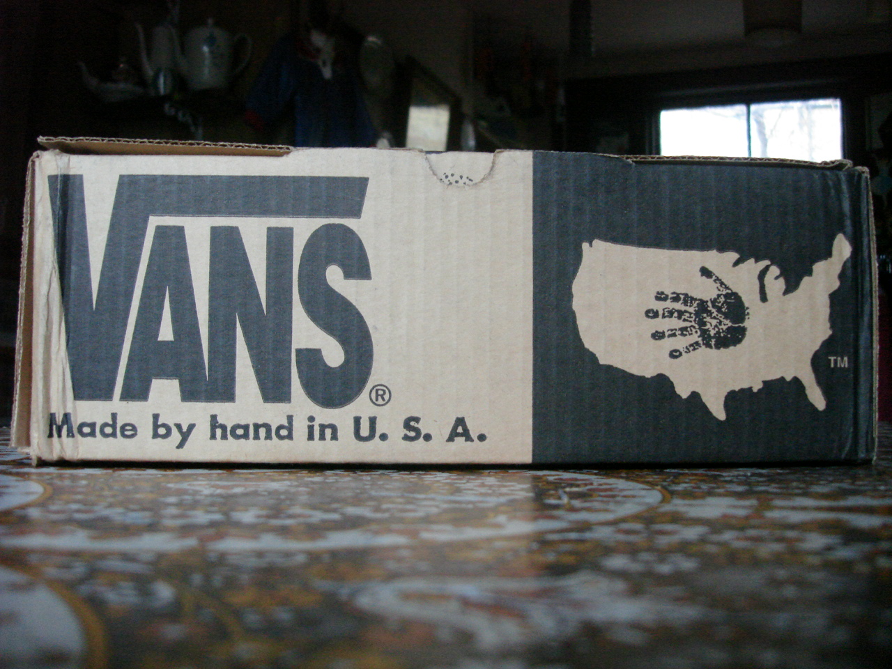 vans original box