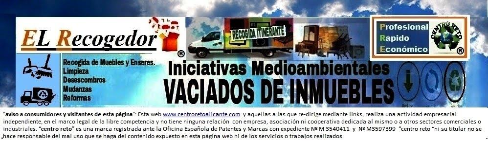RECOGIDA DE MUEBLES Y ENSERES ALICANTE