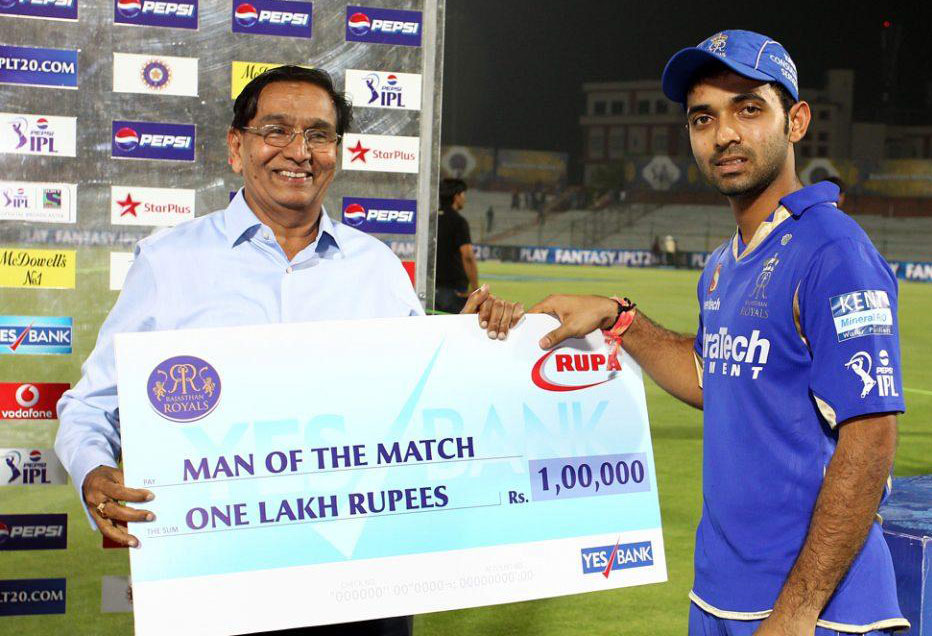 Ajinkya-Rahane-man-of-the-match-RR-vs-PWI-IPL-2013