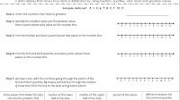 Interquartile Range - Box And Whisker Plot Worksheet Grade 6