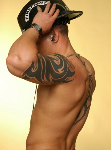 Tattoos for men for Shoulder and arm tattoos