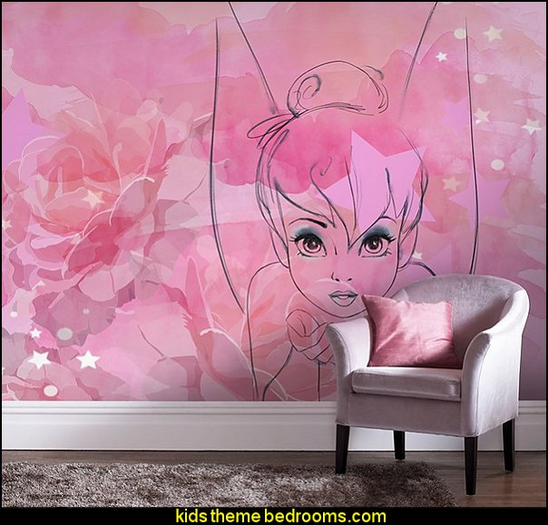 tinkerbell wallpaper mural