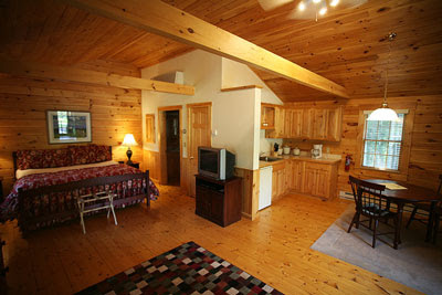 One Bedroom Cabin Floor Plans