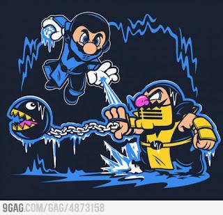 Game Over: Keep Calm and play Mortal Kombat