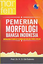 toko buku rahma: buku PEMBERIANMORFOLOGI BAHASA INDONESIA, pengarang edi subroto, penerbit yuma presindo