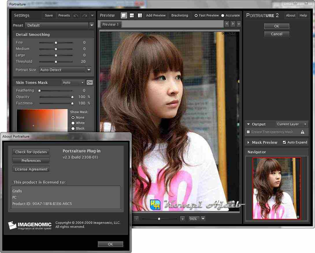 Imagenomic Portraiture 3 Crack License Key Free Download