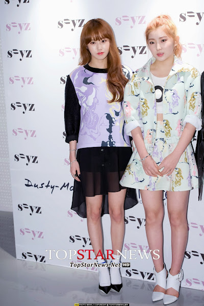 Seoul Fashion Week 4minute Gayoon Sohyun