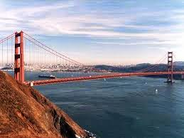 the golden gate from marin headlands
