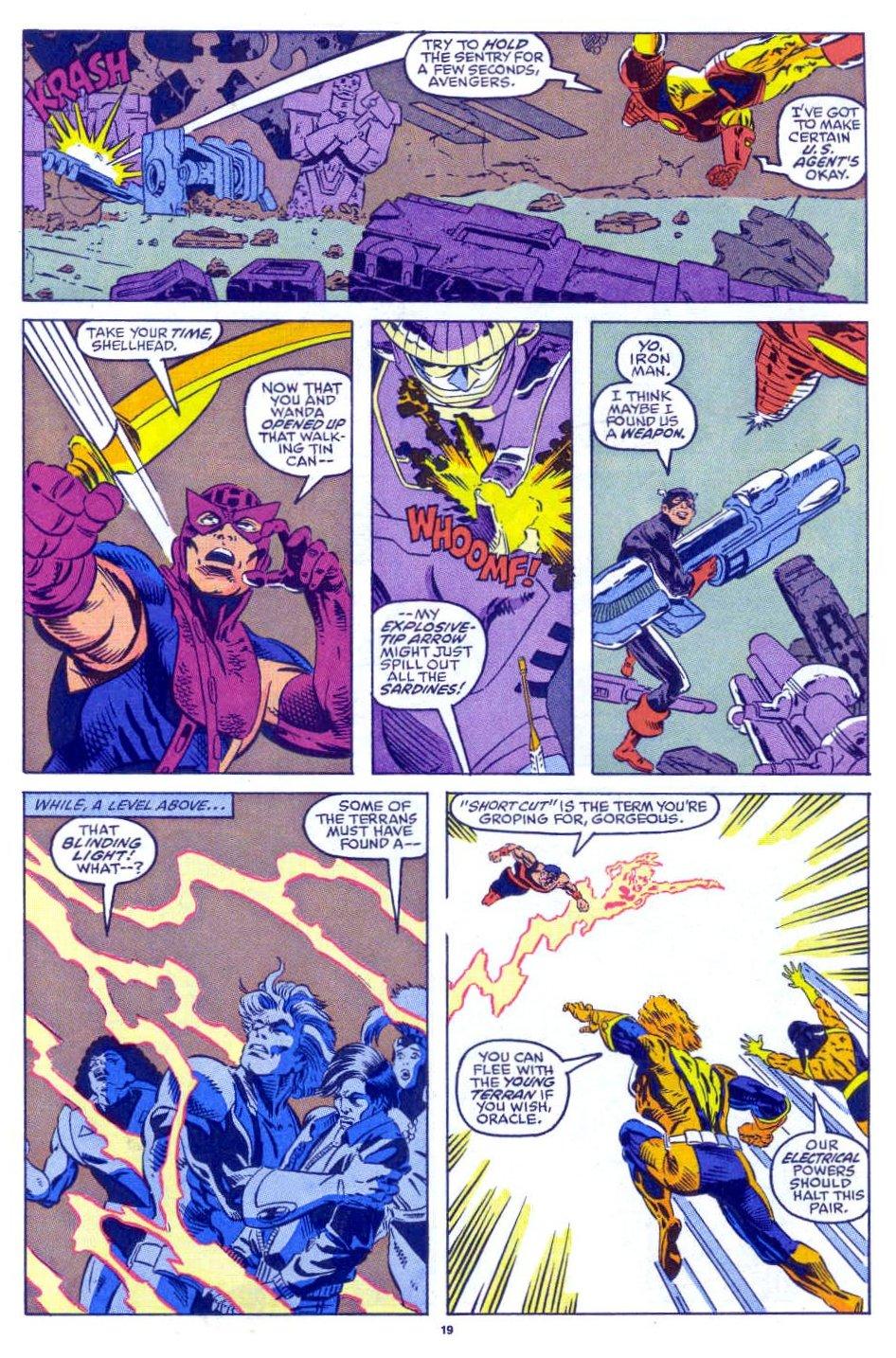 Captain America (1968) Issue #398b #332 - English 16