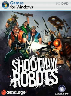 Shoot Many Robots Cover