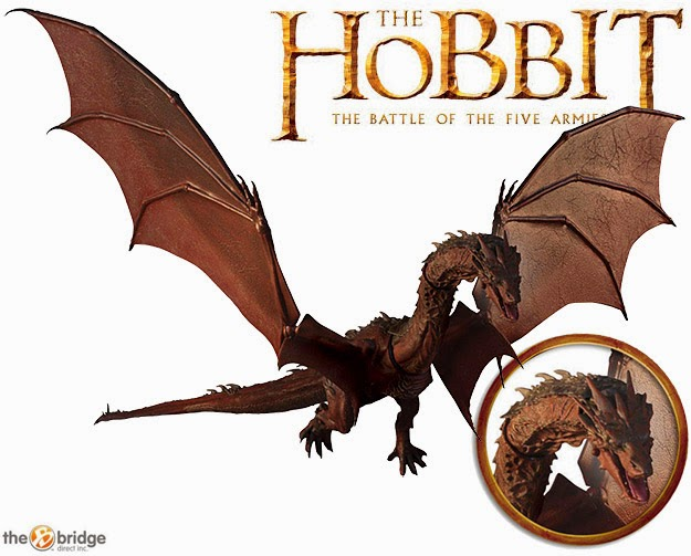 Action Figure Smaug O Hobbit