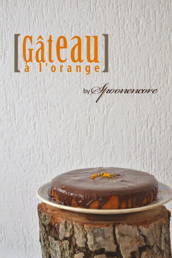 recette gateau a l orange et chocolat