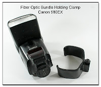 Fiber Optic Bundle Holding Clamp (580EX)