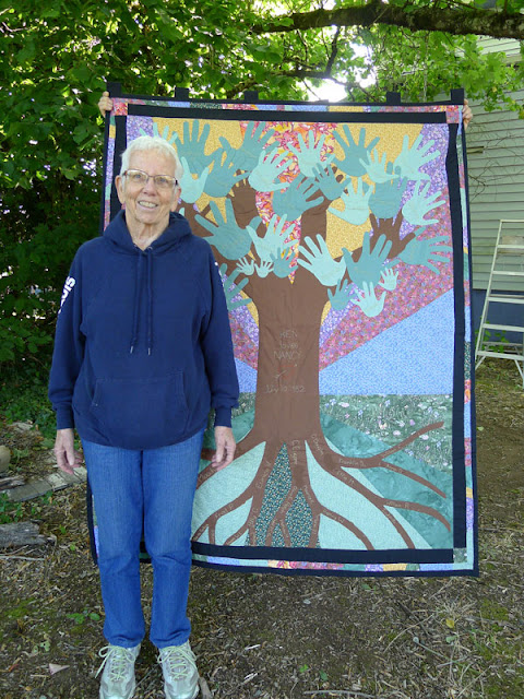 Family Tree Anniversary Quilt