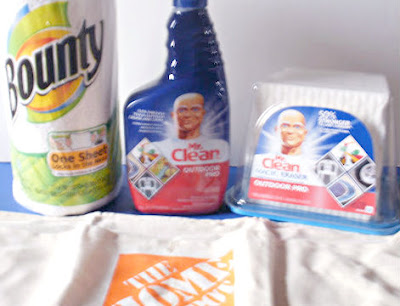 Bounty, Mr. Clean, Outdoor Pro, Outdoor Cleaning Aids, P&amp;G, Proctor &amp; Gamble
