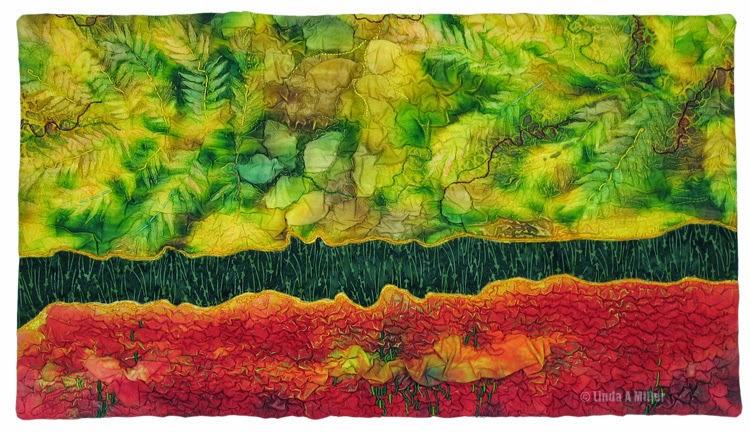 Fluid Fissure 4  © 2012 Linda A. Miller