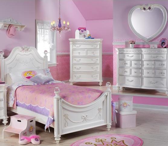 Habitaciones estilo princesa dormitorios con estilo - Juegos de decorar cuartos para ninas ...