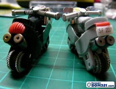 Motosikal Kecil Dari Lighter