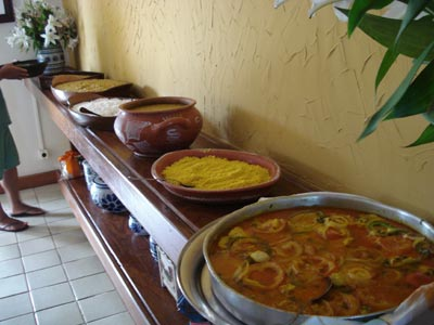 Degust buffet for Comida semana santa