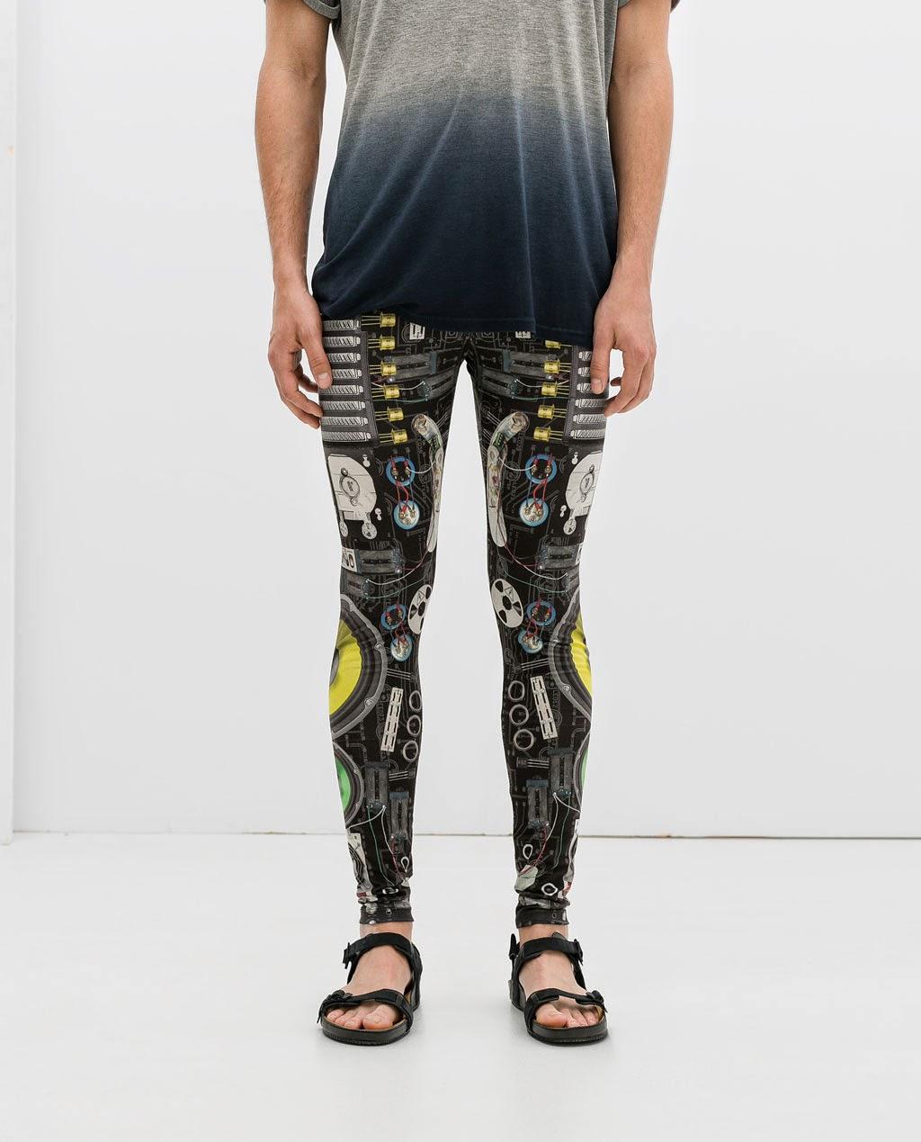 Legging disco, Zara 15,99 \u20ac