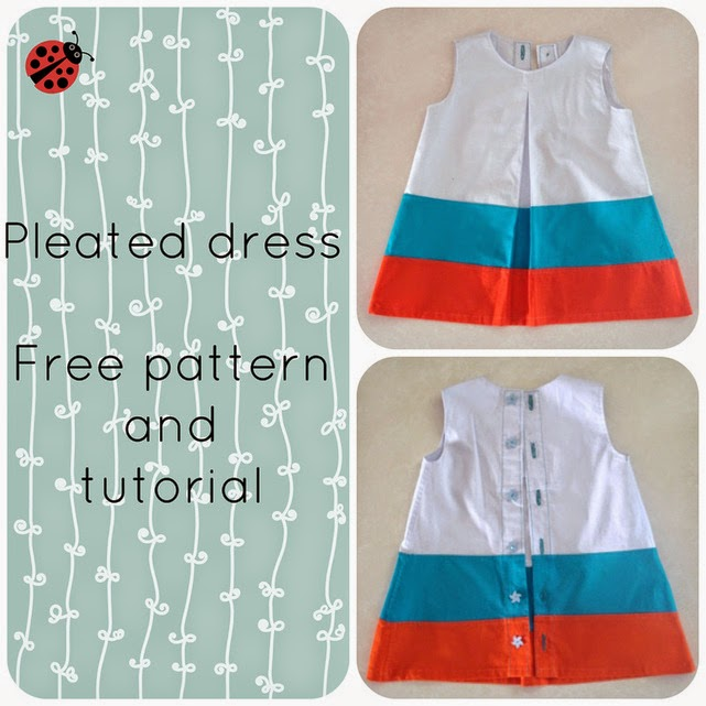 pleated dress free pattern