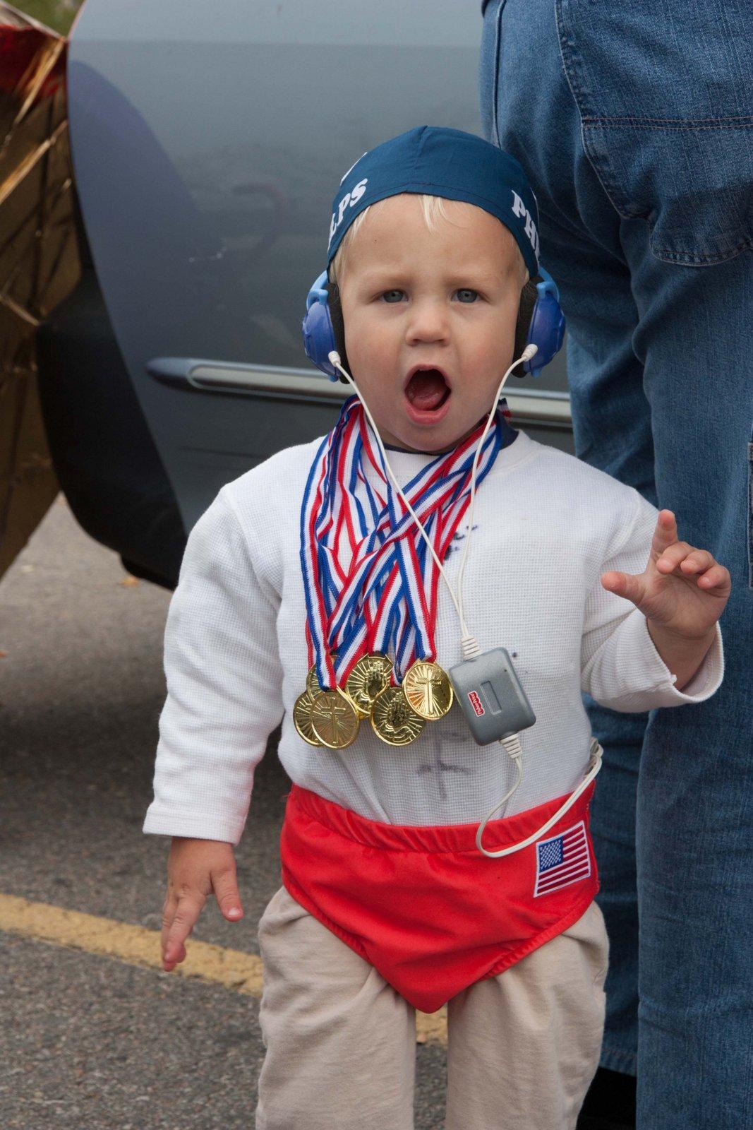 This Year's Halloween Costume Theme - Olympics! | Hess Family Blog!